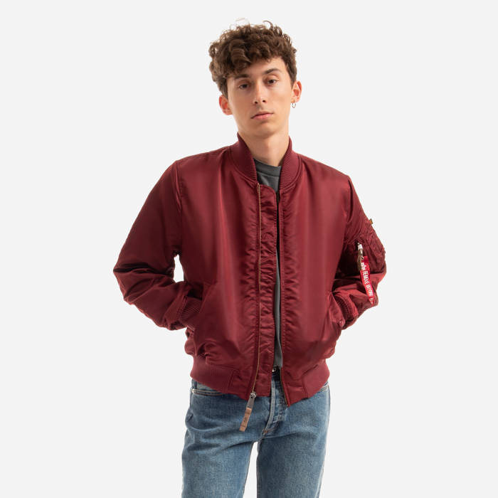 fe5f7aeb35 Alpha Industries MA-1 Vf 59 191118 184 | BORDÓ || CZERWONY | 42 923 ...