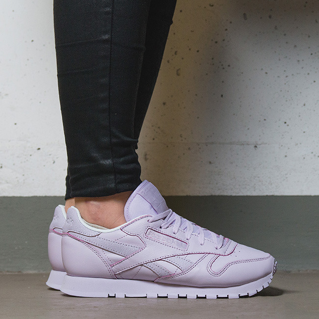 newest a871b 26b29 Buty damskie sneakersy Reebok Classic Leather Face Stockholm V69379