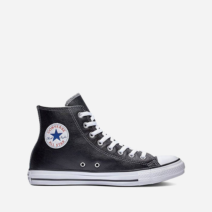 57a3fe3c1454 CONVERSE CHUCK TAYLOR ALL STAR LEATHER 132170C | CZARNY | 21 384,62 ...