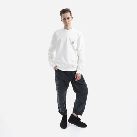 Carhartt WIP Pocket Sweatshirt I027681 WAX