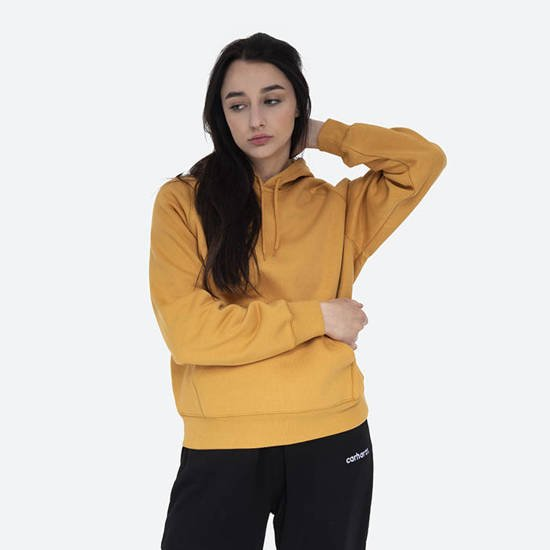 Carhartt WIP W' Hooded Chase Sweatshirt I028392 WINTER SUN/GOLD