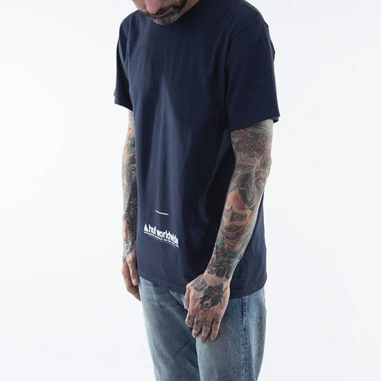 HUF Taking Control T-shirt TS01178 FRENCH NAVY