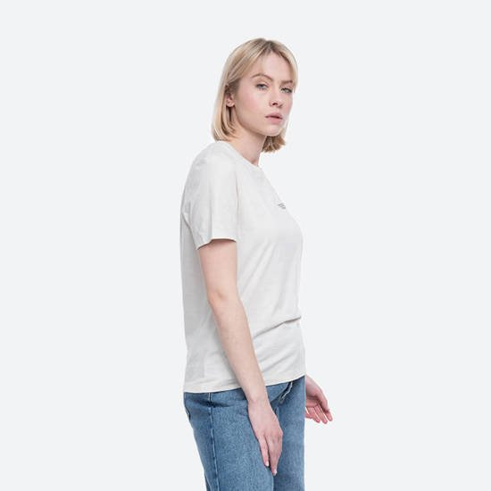 Wood Wood Aria T-shirt 12032500-2434 DUSTY WHITE