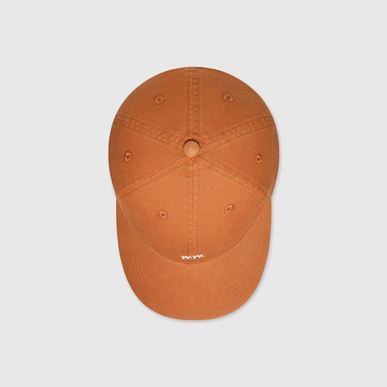 Wood Wood Low Profile Cap 12030803-7083 ORANGE