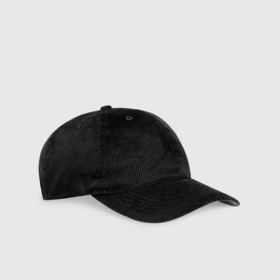 Wood Wood Low Profile Cap 12030810-9016 BLACK