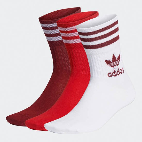adidas Originals Mid Cut Crew Socks 3-pack GD3578